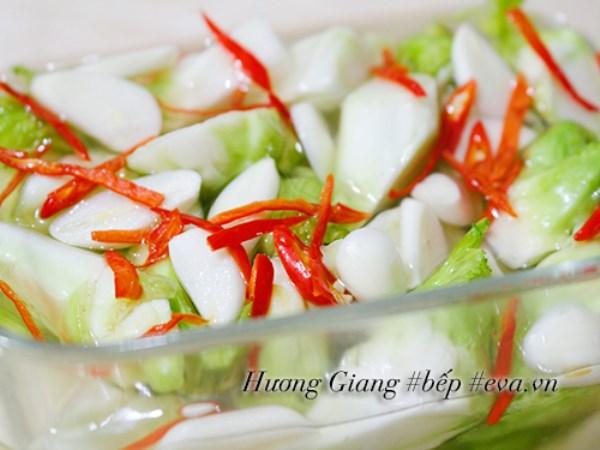Rau mầm đá muối chua cay ngọt dễ ăn ngày Tết - Ảnh 5