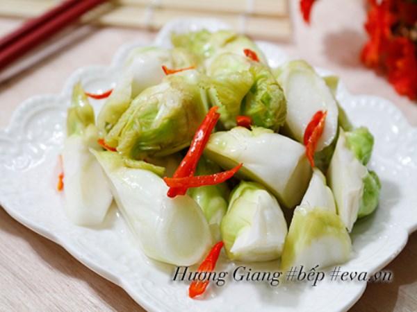 Rau mầm đá muối chua cay ngọt dễ ăn ngày Tết - Ảnh 6