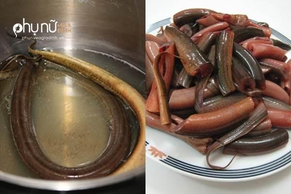 Cách làm lươn không tanh, sạch nhớt vừa nhanh vừa dễ - Ảnh 1