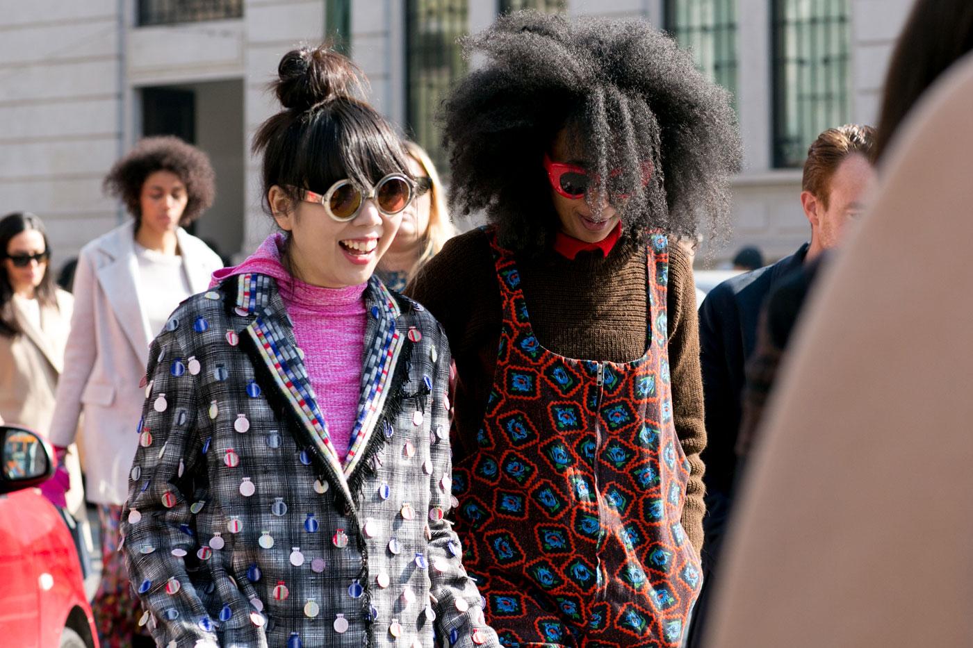 Phong cách thời trang đường phố tại Milan - Ảnh 4