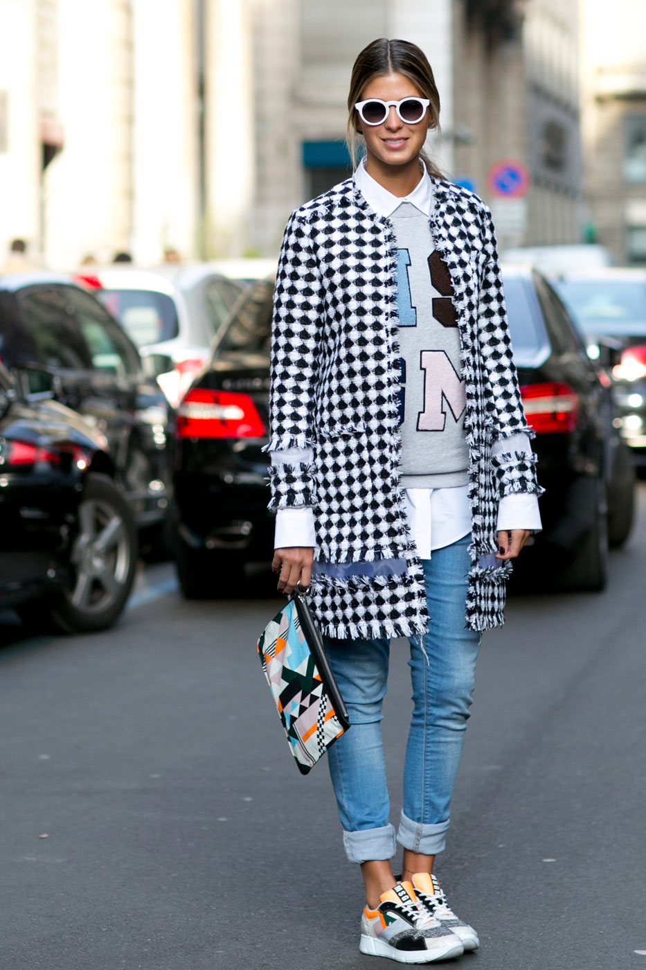 Phong cách thời trang đường phố tại Milan - Ảnh 7
