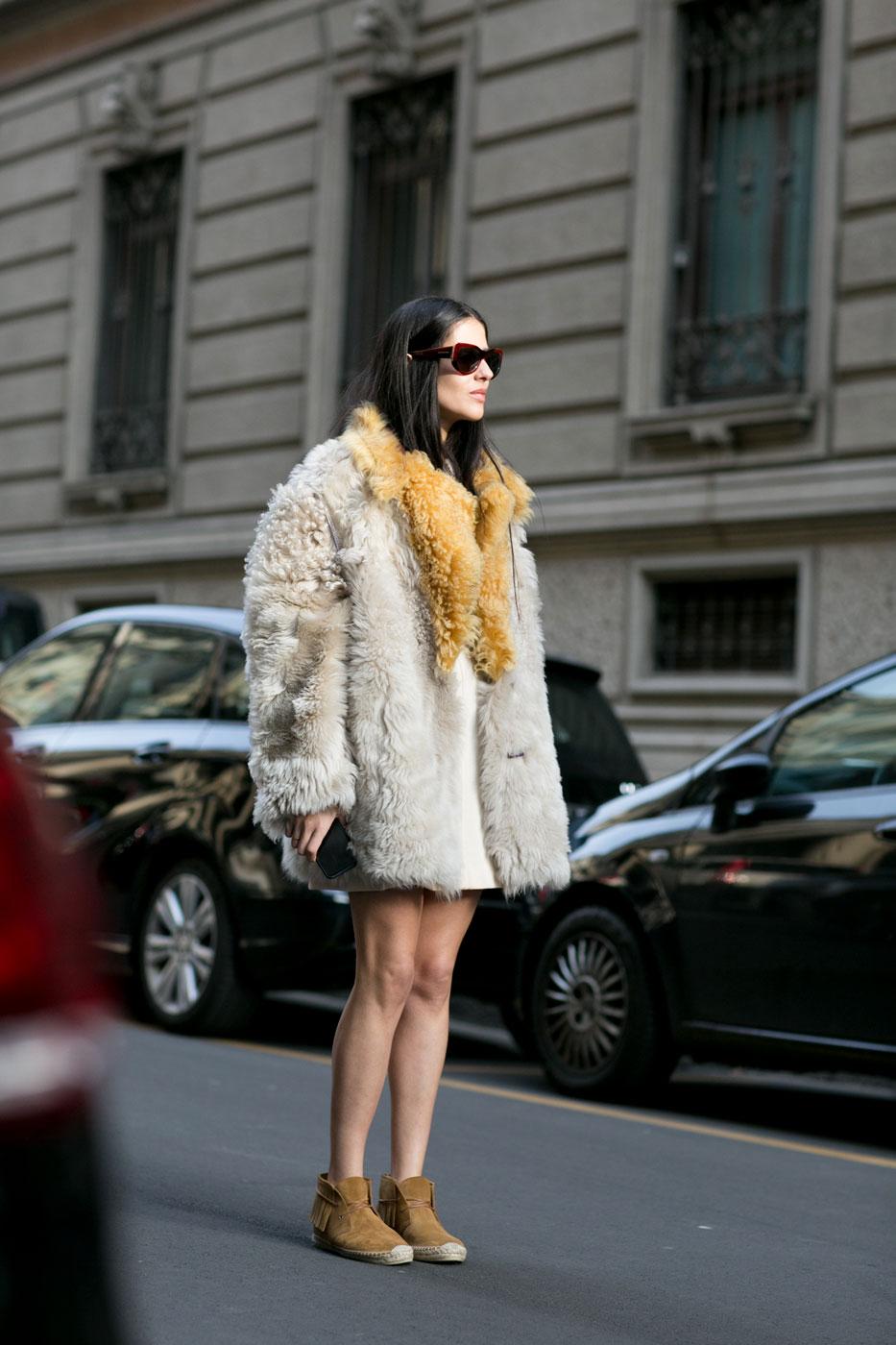 Phong cách thời trang đường phố tại Milan - Ảnh 1