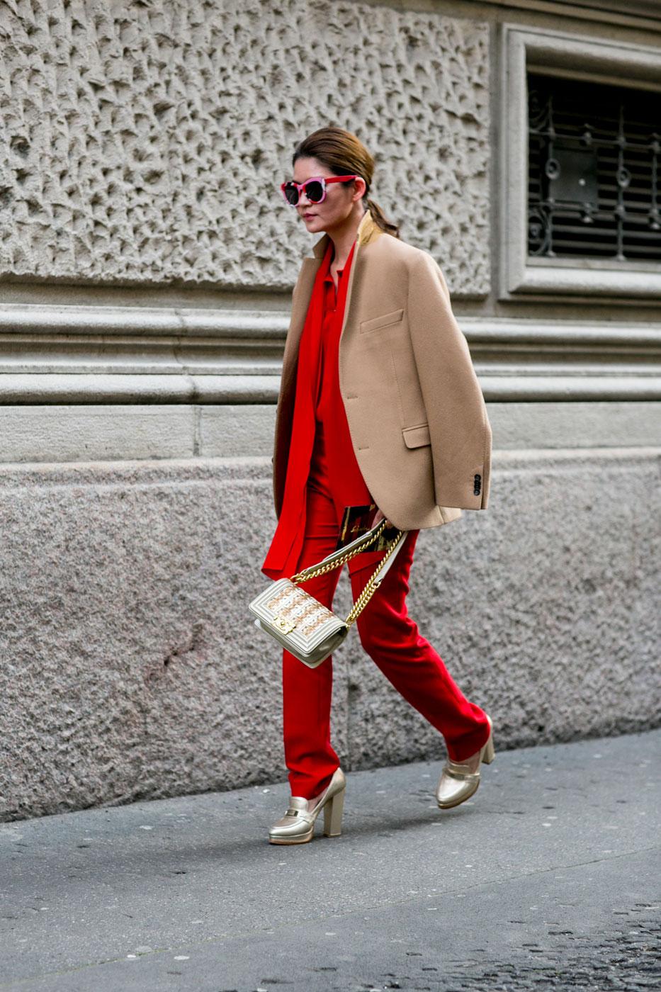 Phong cách thời trang đường phố tại Milan - Ảnh 10