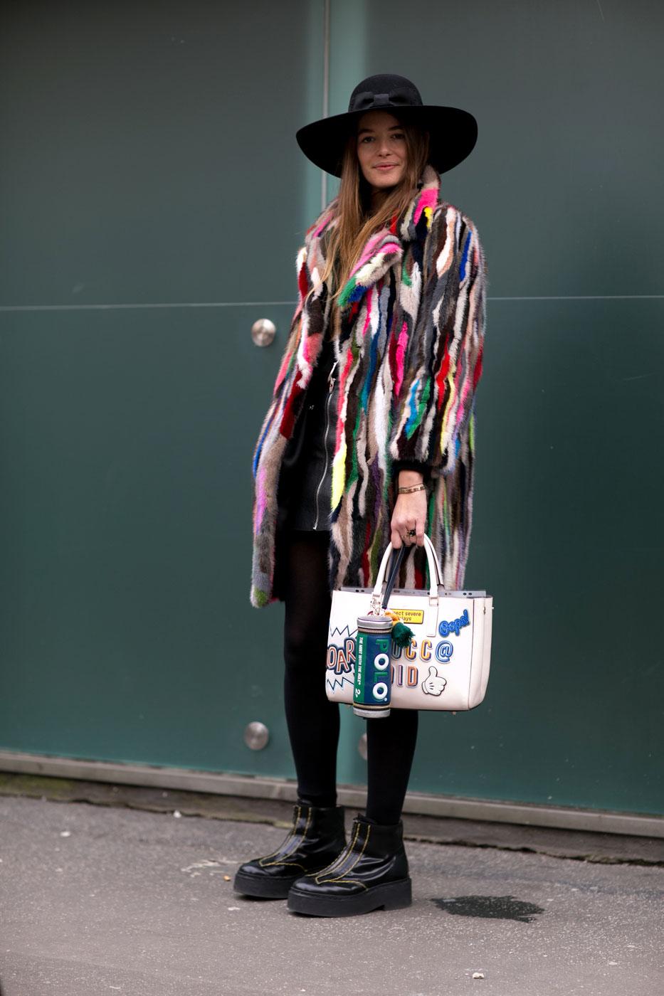 Phong cách thời trang đường phố tại Milan - Ảnh 11