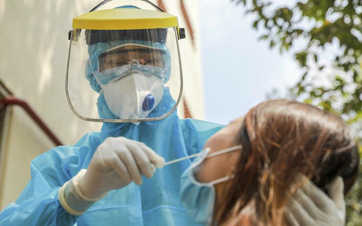2 nữ nhân viên Bệnh viện Trung ương Quân đội 108 phát hiện dương tính SARS-CoV-2 sau lần 4 xét nghiệm