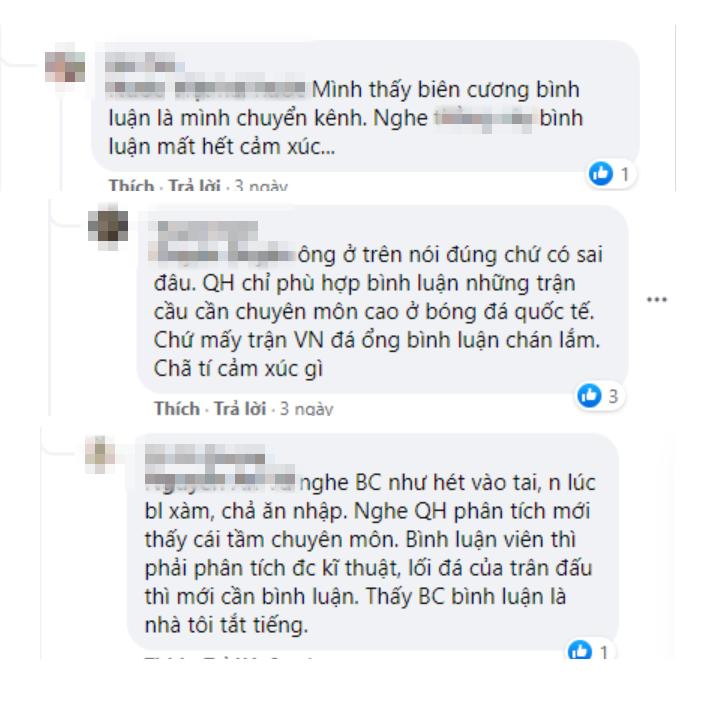 Nhận 'gạch đá' vì thiếu hiểu biết, BLV Tạ Biên Cương bị 'tắt tiếng' trong trậnquyết chiến Việt Nam - Malaysia - Ảnh 1