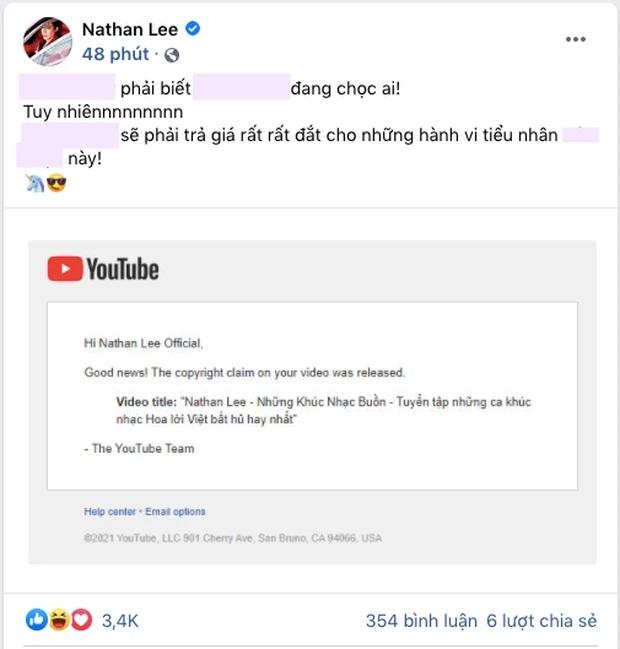 Lại biến: Nathan Lee tố bị 'ca sĩ hạng Z' đánh bản quyền, tuyên bố người này 'sẽ phải trả giá' - Ảnh 2