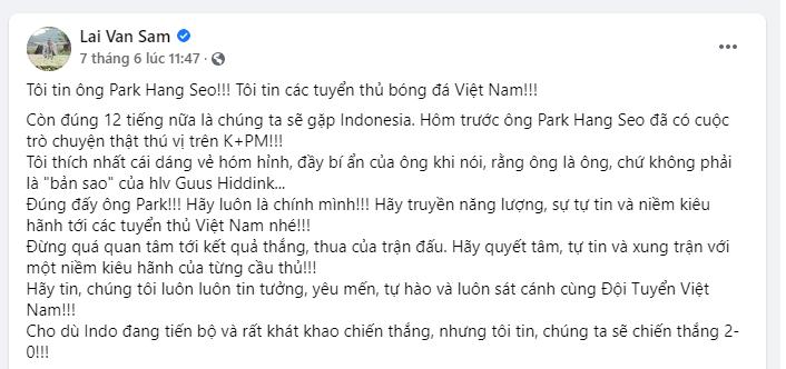 'Tiên tri' trận trước đúng 200%, MC Lại Văn Sâm nói gì về kết quả giữa tuyển Việt Nam vs Malaysia? - Ảnh 2