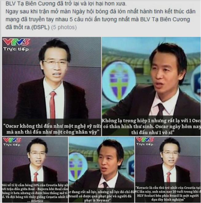 Nhận 'gạch đá' vì thiếu hiểu biết, BLV Tạ Biên Cương bị 'tắt tiếng' trong trậnquyết chiến Việt Nam - Malaysia - Ảnh 2