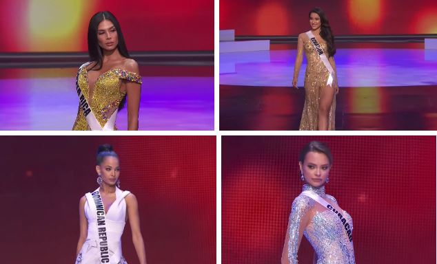 Bán kết Hoa hậu Hoàn vũ 2020: Tự hào trước màn trình diễn bikini thần thái và sexy của Khánh Vân, một thí sinh bị vấp - Ảnh 12