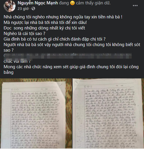 Trước khi quyên sinh, chị họ Nguyễn Ngọc Mạnh 'mất tích' bí ẩn vào ngày sinh nhật con 5 tuổi? - Ảnh 1
