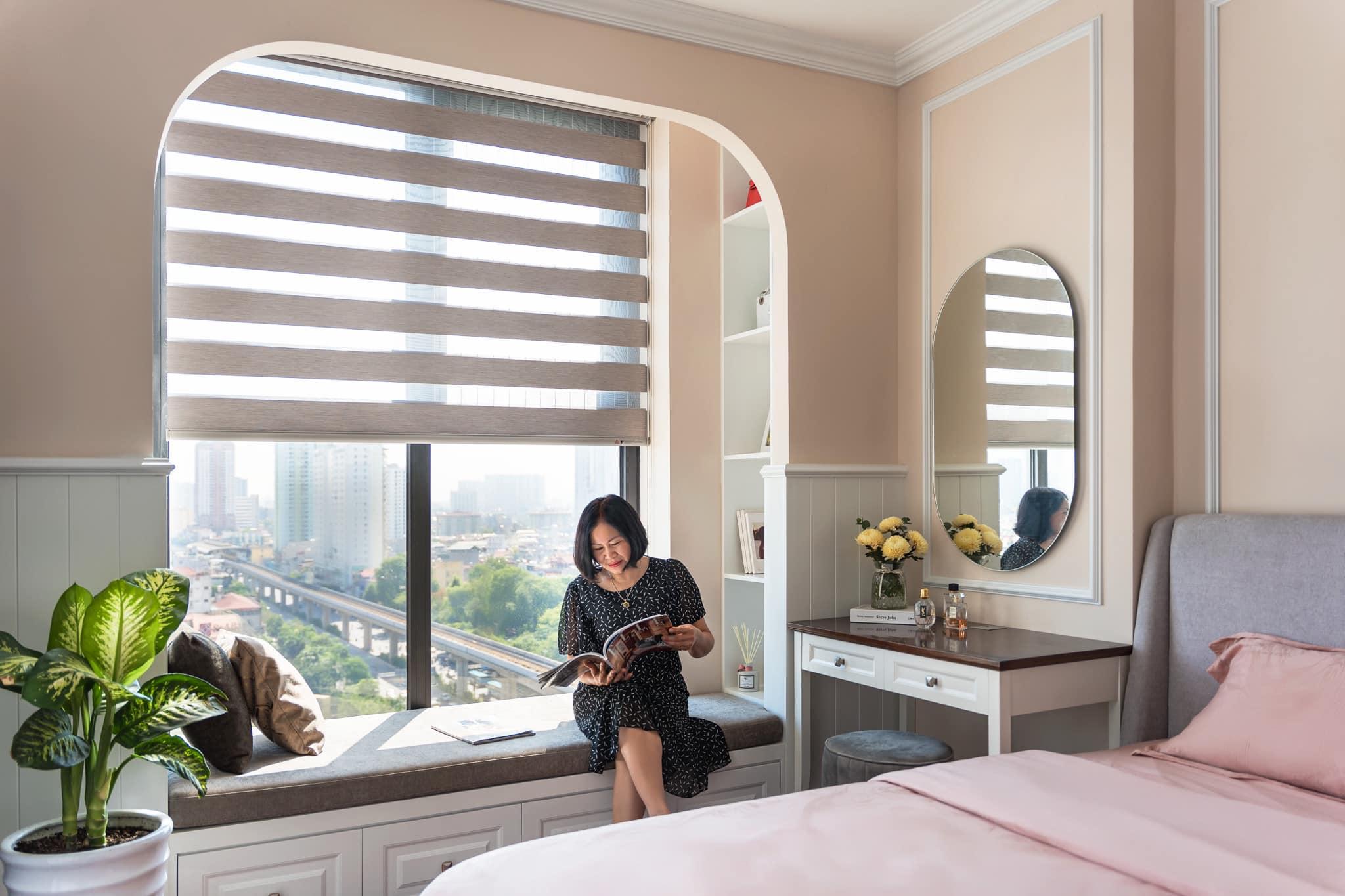 Chỉ với 75 mét vuông, gái Hà Thành 'tậu' ngay ngôi nhà đẹp như tranh vẽ tặng cho bố mẹ
