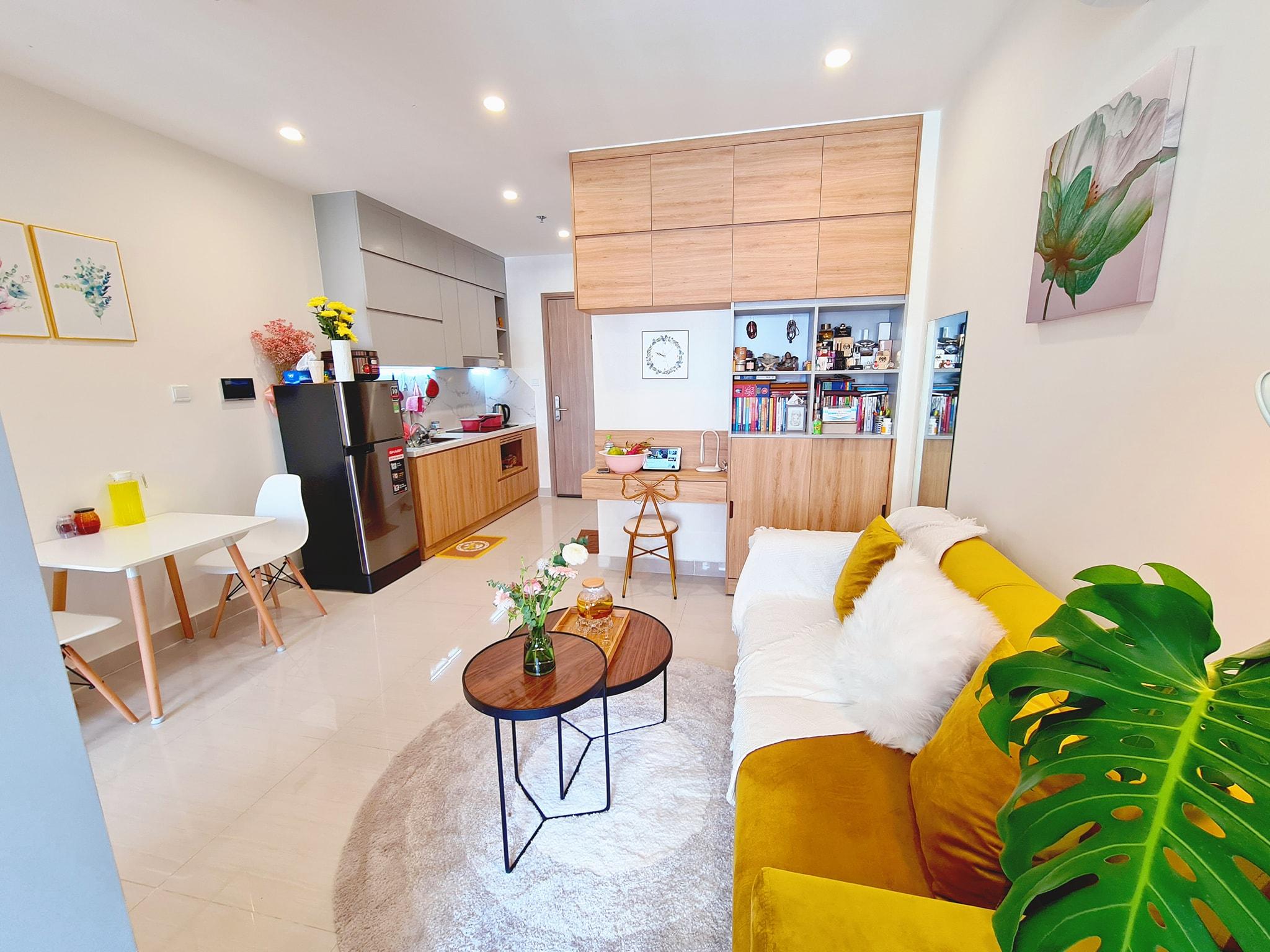 Tuy chưa 'yên bề gia thất' nhưng cô nàng vẫn kịp 'an cư lập nghiệp' với căn hộ 30m2 đẹp như mơ nhờ cách trang trí tài tình