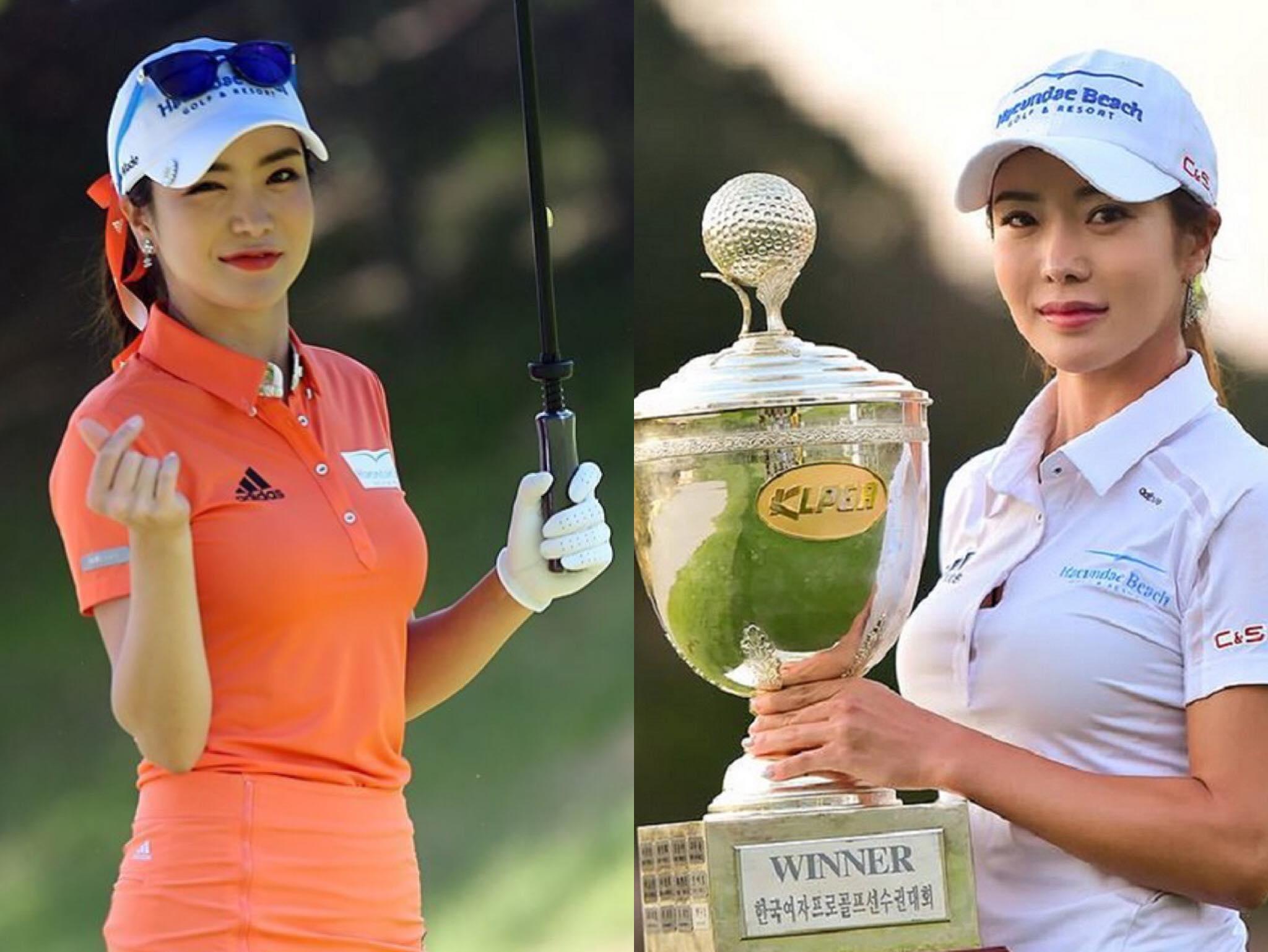 Đổ gục trước sắc vóc 'bốc lửa' của 'thánh nữ' xinh đẹp bậc nhất làng golf Shin Ae Ahn