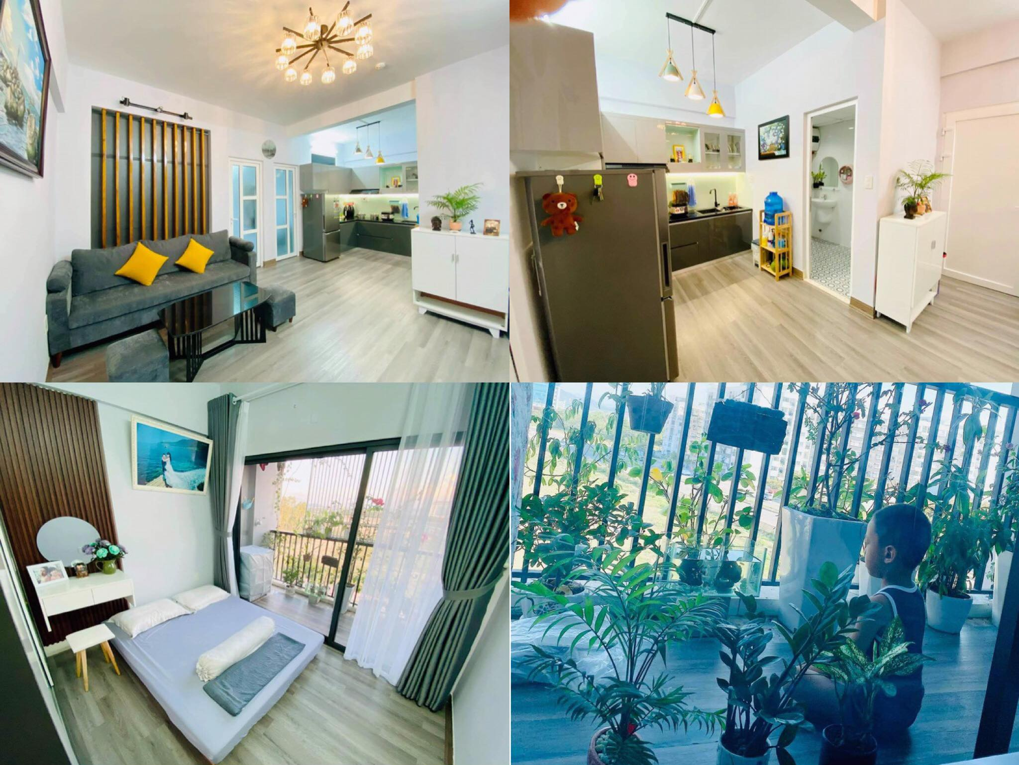 Mẹ hai con tự tay thiết kế căn hộ chung cư, style tối giản nhưng cực kỳ cá tính và sang trọng