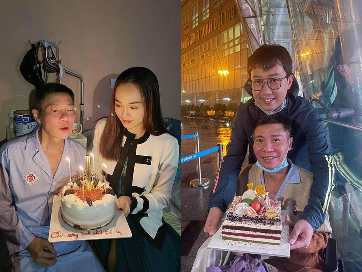 Sau gần 3 tháng điều trị, NSND Công Lý lần đầu lộ diện, đón sinh nhật trong bệnh viện