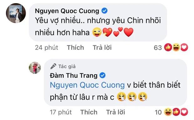 """Đàm Thu Trang bắt bài """"thế lực nhí"""" nghịch ngợm, Cường Đô La chốt hạ 2 chữ là biết """"nghiện"""" con đến mức nào - Ảnh 4"""