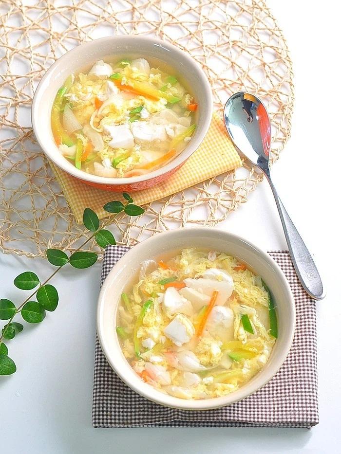 Món súp này ăn khuya hay ăn sáng đều cực đỉnh, nhẹ bụng lại giúp da dẻ căng mịn đẹp xinh - Ảnh 8
