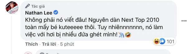 Bất ngờ với tin nhắn thô tục được cho là của một mỹ nhân Việt gửi cho Nathan Lee - Ảnh 3
