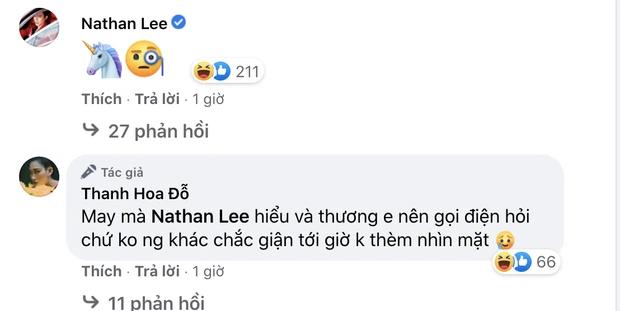 Bất ngờ với tin nhắn thô tục được cho là của một mỹ nhân Việt gửi cho Nathan Lee - Ảnh 4