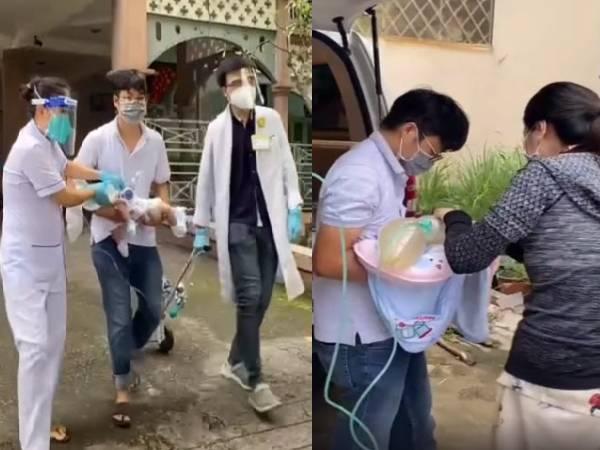 Bé 2 tháng tuổi được bệnh viện Nhi đồng 'trả về', bố đau đớn bế con về nhà, nhìn 2 tay đứa trẻ buông thõng khiến ai nấy khóc nghẹn