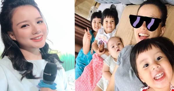 Bị mỉa mai lấy đại gia nên phải 'cố đẻ ra con trai', mẹ 4 con nổi tiếng VTV đáp trả thâm thúy khiến ai nấy 'cứng họng'