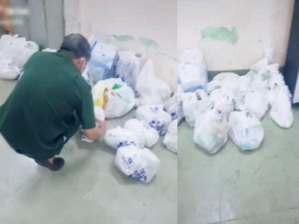 Cả ngày dài mua hàng giúp dân, chú bộ đội thẫn thờ vì bị 'bom' hơn chục túi đồ ăn lớn nhỏ: 'Lòng tốt bị đem ra đùa cợt'