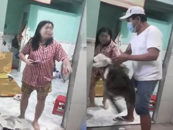 Chủ trọ trong clip vứt quần áo, đuổi khách nữ ra khỏi phòng vì nợ tiền bức xúc: 'Chị ấy có thái độ thách thức, gây rối'