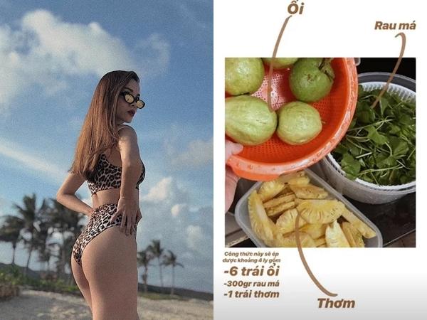 3 món ăn sáng giữ dáng của Yến Trang