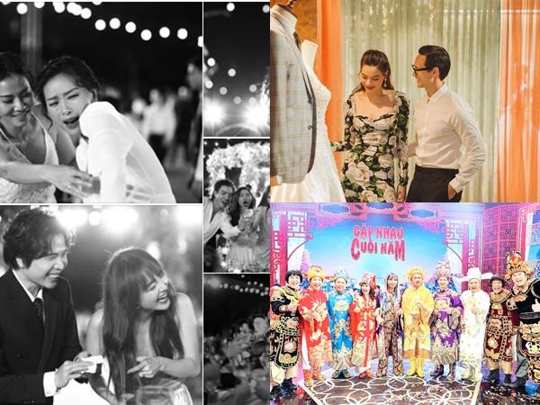 360 độ sao Việt ngày 22/11/2019: Đông Nhi khoe ảnh sao Việt 'quẩy tung nóc' trong tiệc cưới, Tự Long than buồn vì Táo Quân