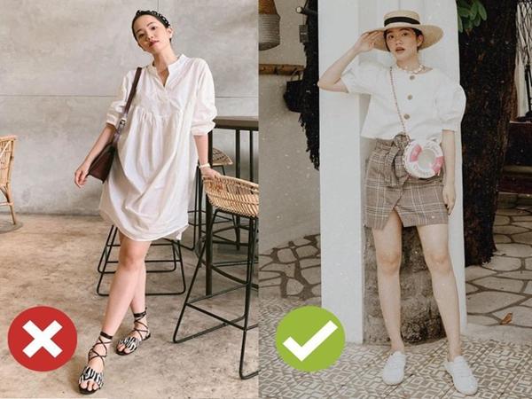 4 kiểu ăn mặc sau không xấu, nhưng nàng thấp bé cứ xác định sẽ bị dìm dáng tơi tả nếu áp dụng