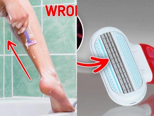 7 sai lầm khi sử dụng dao cạo lông gây hại làn da và sức khỏe của bạn