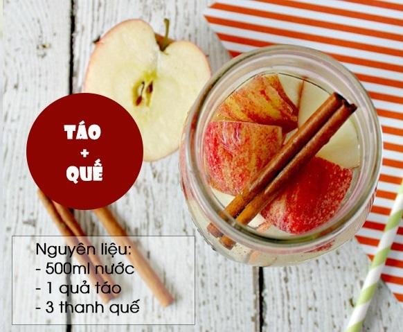 Ăn bánh chưng cả 3 ngày Tết cũng không sợ nổi mụn chỉ với 1 ly nước thanh lọc cơ thể làm từ táo - Ảnh 4