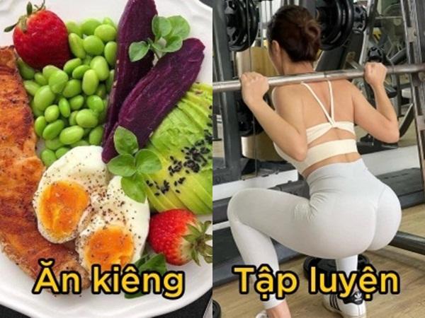 Ăn kiêng hay tập thể dục giúp giảm cân tốt hơn?