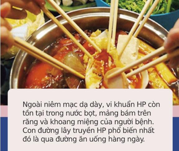Loại vi khuẩn mà 70% người Việt đang nhiễm: Thuộc nhóm gây ung thư số 1, dễ lây lan cho nhau qua 4 thói quen tai hại khi ăn cơm - Ảnh 4