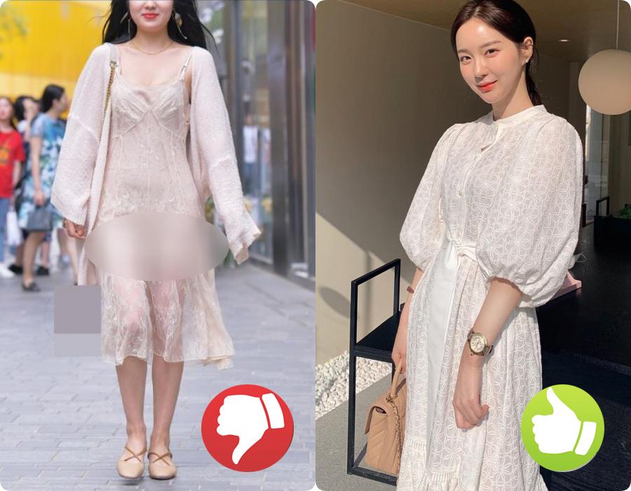 Cứ nghĩ váy áo trắng là thanh lịch duyên dáng nhất rồi, nào ngờ cũng đầy rẫy thảm họa nhé các nàng ơi! - Ảnh 1