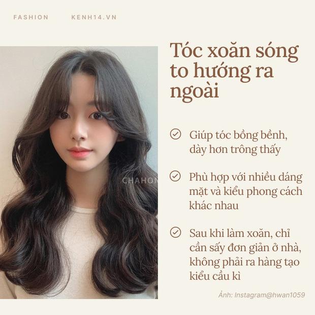 Có 4 kiểu tóc xoăn 'chuẩn Hàn' hội gái xinh cứ thi nhau diện, bạn đu theo đảm bảo lột xác - Ảnh 1