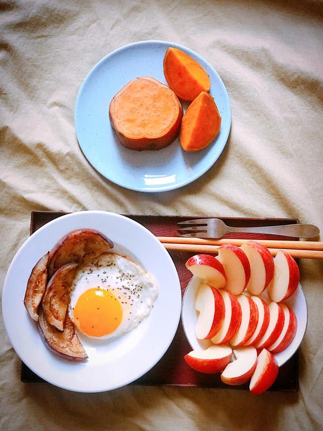 Hội chị em giảm cân không thể bỏ qua loạt thực đơn khoai lang ăn cả tuần không chán do 9X mặt đẹp dáng xinh chia sẻ - Ảnh 3