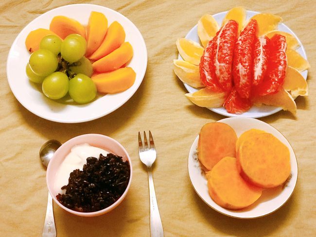 Hội chị em giảm cân không thể bỏ qua loạt thực đơn khoai lang ăn cả tuần không chán do 9X mặt đẹp dáng xinh chia sẻ - Ảnh 2
