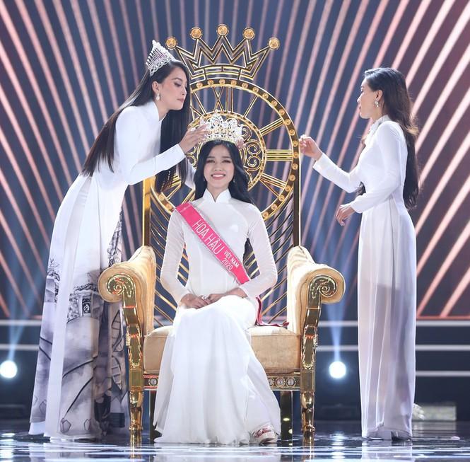 Đỗ Thị Hà phá 'lời nguyền nhan sắc' lúc đăng quang của Hoa hậu Việt - Ảnh 1