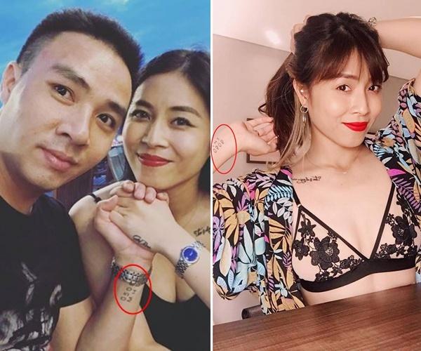 MC Hoàng Linh vừa chia sẻ ảnh dỗ khéo chồng, nhưng lại để lộ hình xăm lớn mà cô vừa 'kết nạp' - Ảnh 4