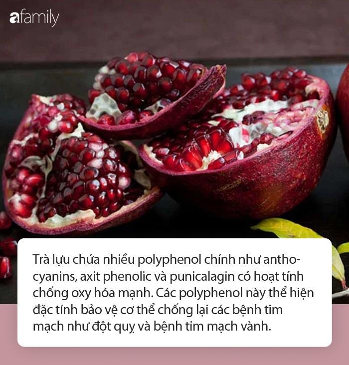 Nhiều người vứt thứ này đi khi ăn lựu mà không biết có thể làm thành trà đem lại 11 công dụng sức khỏe cực đáng gờm! - Ảnh 2