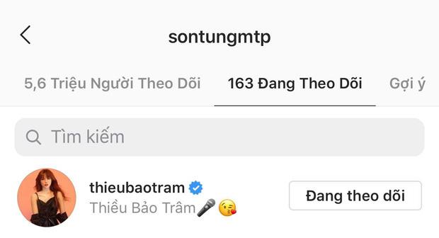 Sau Thiều Bảo Trâm, đây là cô gái Việt thứ 2 được Sơn Tùng M-TP follow và 'thả thính' liên tục trên MXH - Ảnh 1