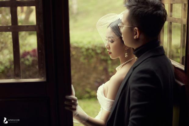 Á hậu Thuý An tung ảnh cưới lung linh trước thềm hôn lễ: Nhan sắc cô dâu 'đỉnh của chóp', e ấp bên chú rể hơn 12 tuổi! - Ảnh 11