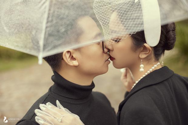 Á hậu Thuý An tung ảnh cưới lung linh trước thềm hôn lễ: Nhan sắc cô dâu 'đỉnh của chóp', e ấp bên chú rể hơn 12 tuổi! - Ảnh 7