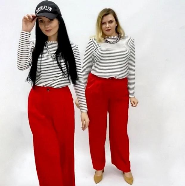 2 cô gái 'mặc chung đồ' chứng minh thời trang không phụ thuộc vào số đo - Ảnh 3