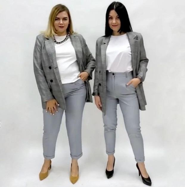 2 cô gái 'mặc chung đồ' chứng minh thời trang không phụ thuộc vào số đo - Ảnh 5