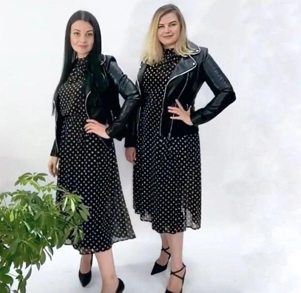 2 cô gái 'mặc chung đồ' chứng minh thời trang không phụ thuộc vào số đo - Ảnh 8