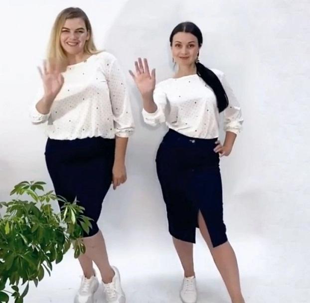 2 cô gái 'mặc chung đồ' chứng minh thời trang không phụ thuộc vào số đo - Ảnh 9