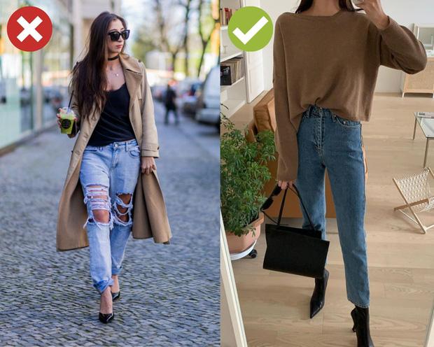 4 kiểu quần jeans có cho cũng không lấy vì diện lên lôi thôi, lỗi mốt và dễ còn tố sạch nhược điểm đôi chân - Ảnh 1